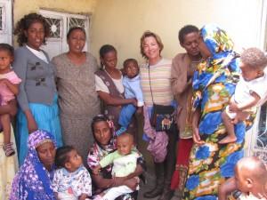 helping ethiopian children, marla hodes